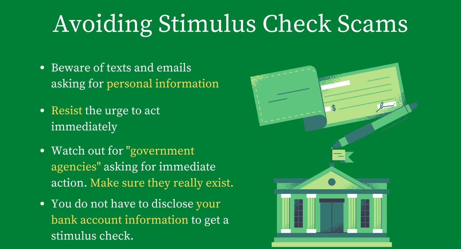 How to avoid stimulus check scams | Milwaukee Neighborhood ...