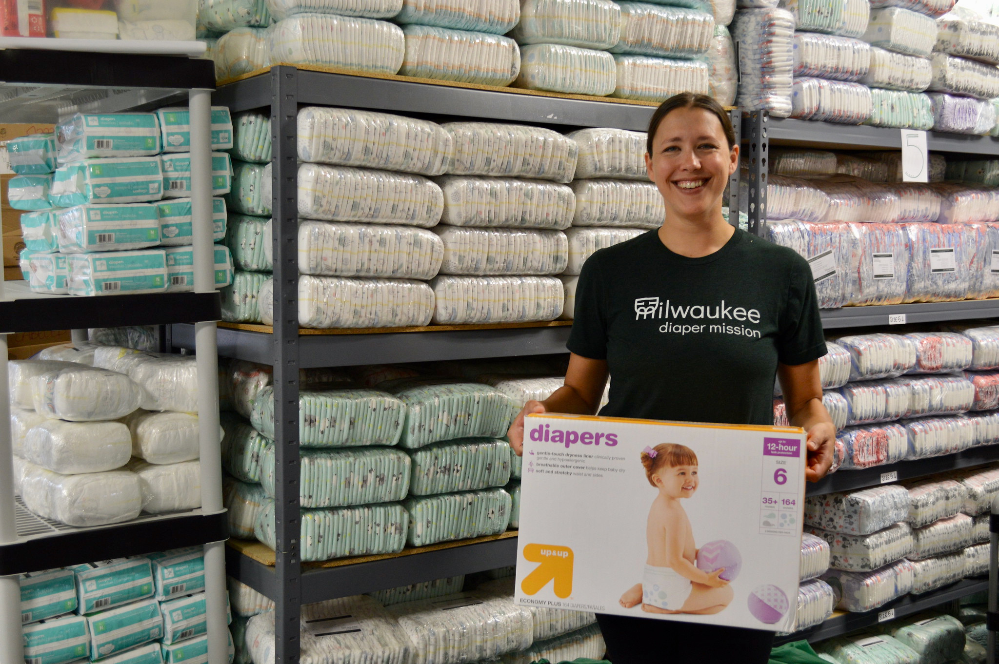 NNS Spotlight: 'Diapers, dollars and doers': How Milwaukee Diaper Mission is answering the community's needs